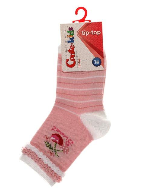 Шкарпетки рожеві Conte Kids 3750284