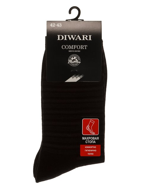 Шкарпетки чорні DIWARI 3749999