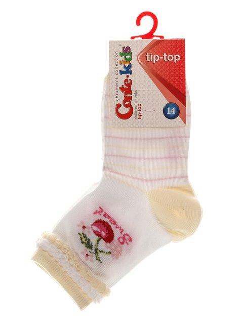 Шкарпетки білі Conte Kids 3750282