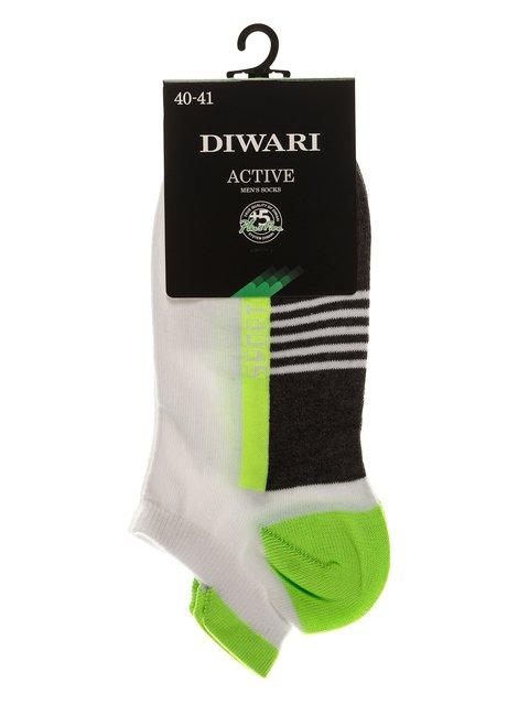 Шкарпетки салатові DIWARI 3750007