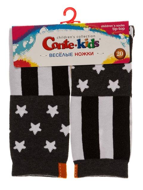 Шкарпетки сірі Conte Kids 3750398