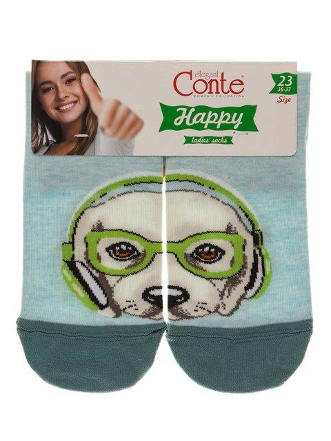 Шкарпетки бірюзові Conte 3749958