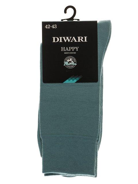 Носки серо-бирюзовые DIWARI 3749995