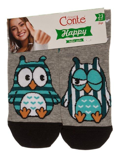 Шкарпетки сірі Conte 3749957