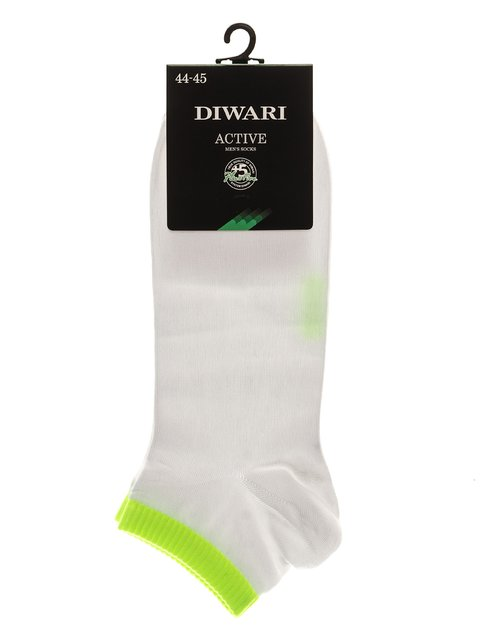 Носки бело-салатовые DIWARI 3287290