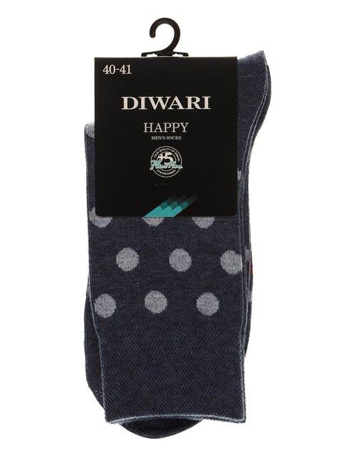 Шкарпетки джинсового кольору DIWARI 3749988