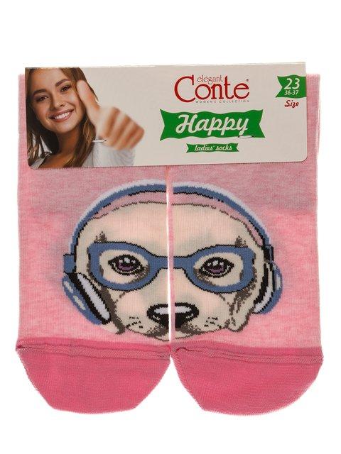 Носки розовые Conte 3749959