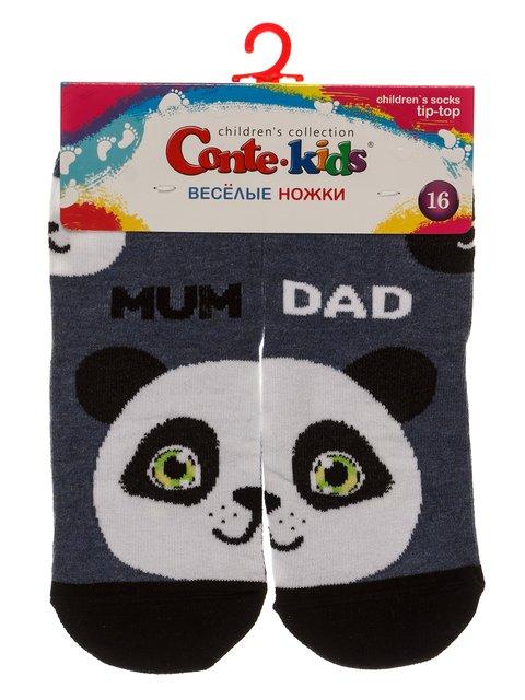 Шкарпетки джинсового кольору Conte Kids 3750389