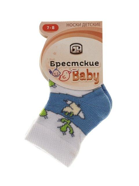 Шкарпетки блакитні БЧК 3750508