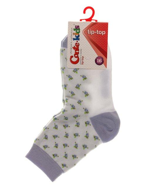 Шкарпетки сіро-фіолетові Conte Kids 3750251