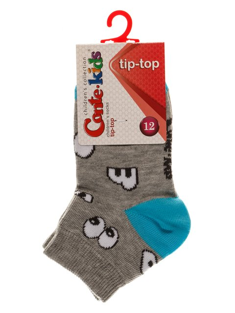 Шкарпетки сірі Conte Kids 3750241