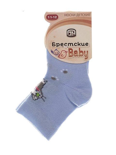 Шкарпетки блакитні БЧК 3750517