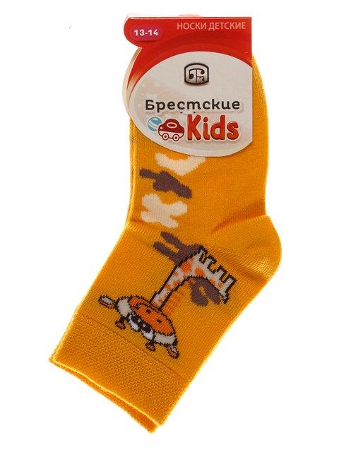 Носки желтые БЧК 3750541