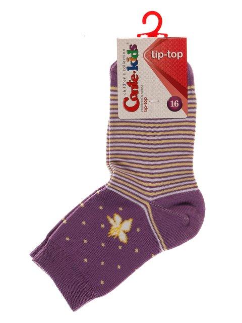 Шкарпетки бузкового кольору Conte Kids 3750249