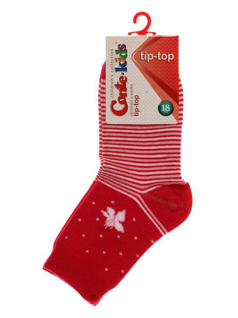 Носки цвета фуксии Conte Kids 3750256