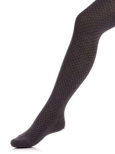 Колготки темно-серые с рисунком Esli 3750126