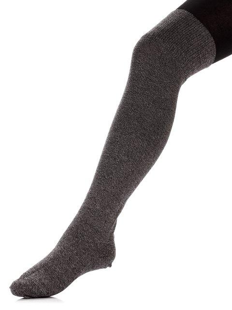 Колготки темно-сірі з принтом Esli 3750120
