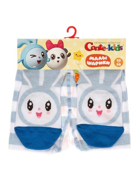 Колготки светло-голубые с принтом Conte Kids 3750228