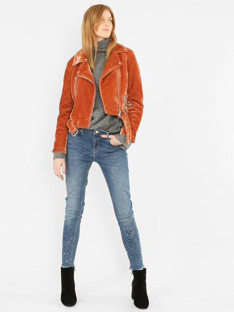 Куртка рыжего цвета Pimkie 3786880