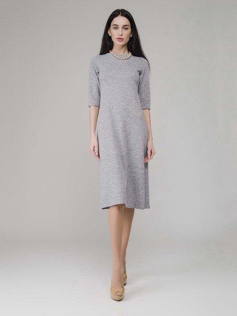 Платье серое меланжевое AERIN 3793527