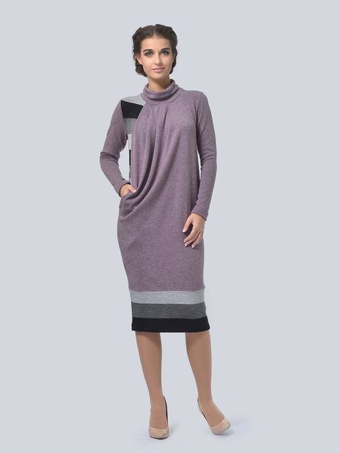 Платье сиреневое LILA KASS 3794564