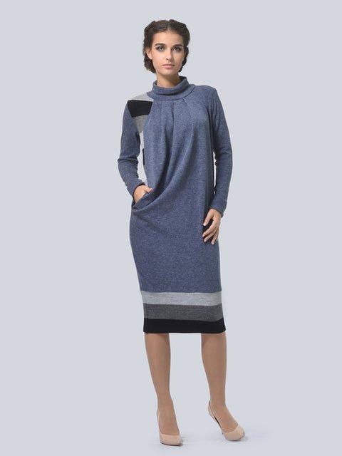 Платье графитового цвета LILA KASS 3794565