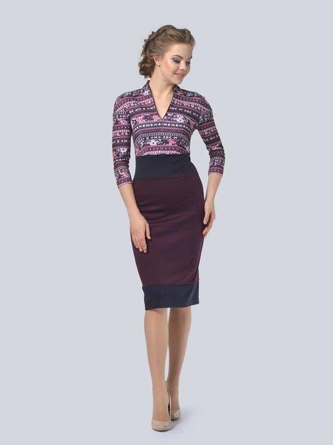 Платье в принт LILA KASS 3794586