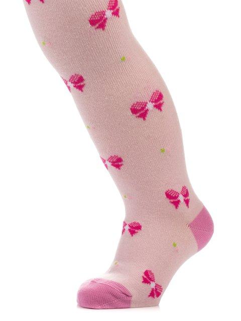 Колготки светло-розовые в рисунок Esli 3750190