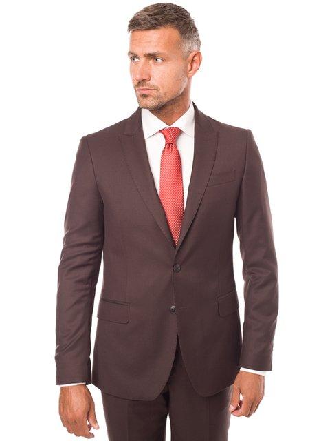 Пиджак коричневый Arber 3800912