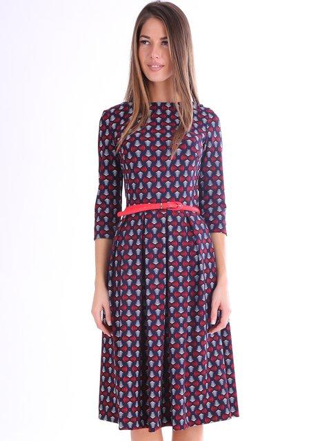 Платье в принт Jet 3801795