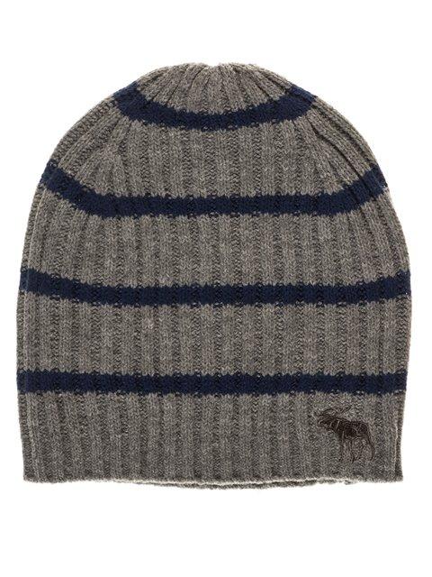 Шапка серо-синяя Abercrombie&Fitch 3799525