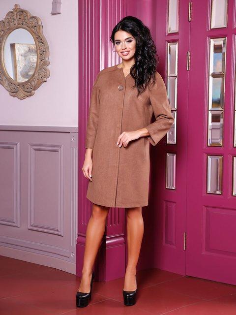 Пальто коричневое Favoritti 3810524