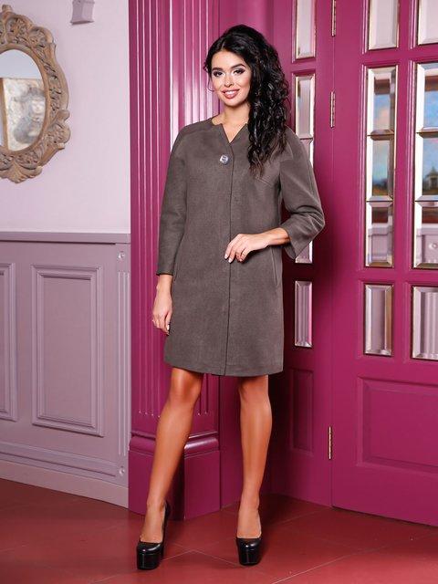 Пальто темно-серое Favoritti 3810528