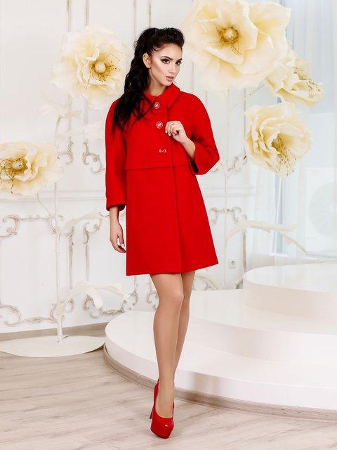 Пальто червоне Favoritti 3810588