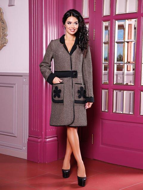 Пальто коричневое Favoritti 3810593