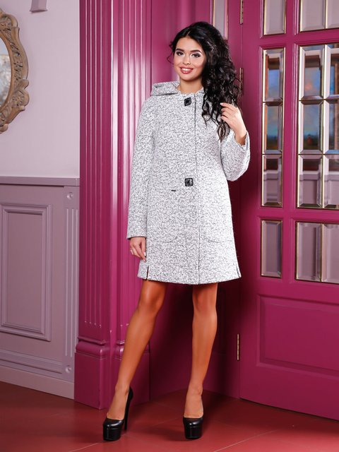 Пальто біле Favoritti 3810600