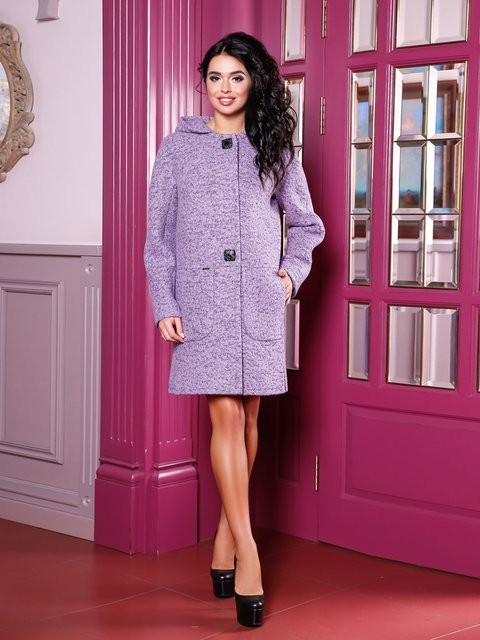Пальто сиреневое Favoritti 3810601