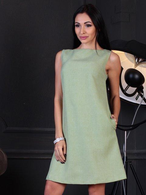 Сукня-сарафан оливкового кольору Laura Bettini 3788178