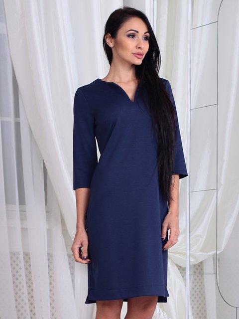 Сукня темно-синя Laura Bettini 3788206