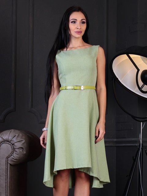 Платье оливковое Dioni 3788235