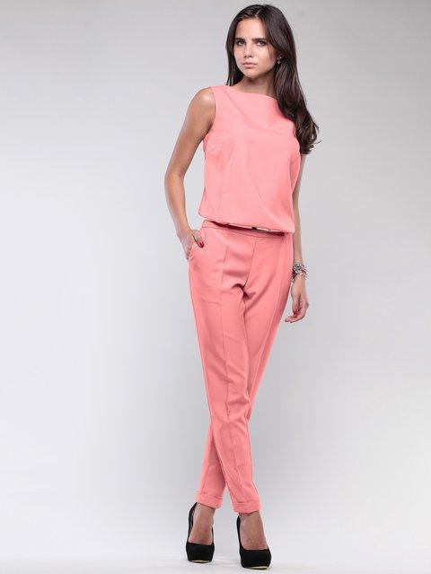 Комбинезон темно-персикового цвета Laura Bettini 3809746