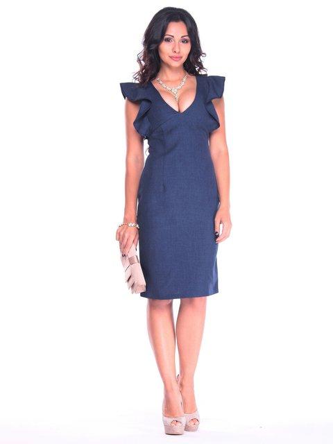 Сукня темно-синя Laura Bettini 3809823