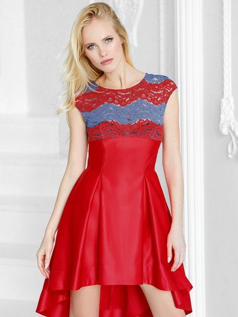 Платье красное Gepur 3814028