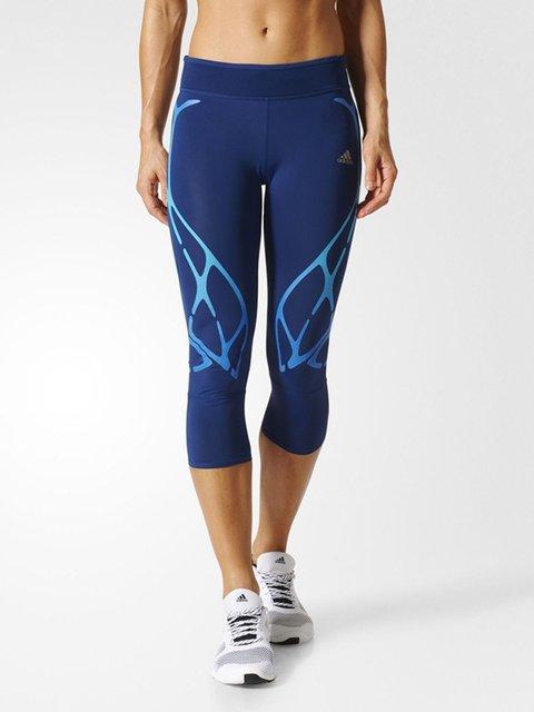 Бриджи синие Adidas 3711574
