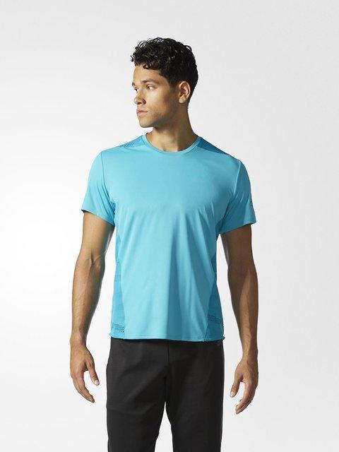 Футболка голубая Adidas 3711988