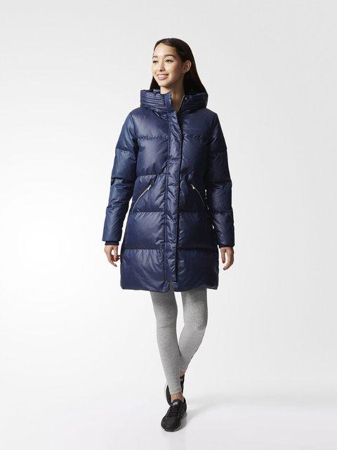 Пальто синее Adidas 3748094