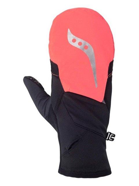 Рукавиці чорно-рожеві SAUCONY 3808806