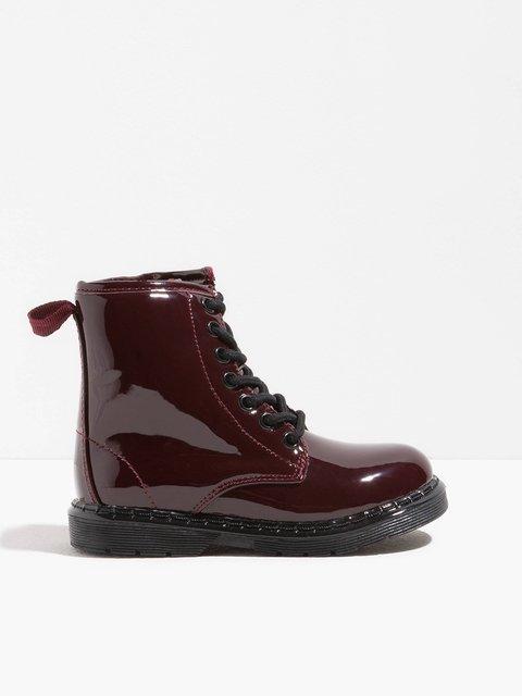 Ботинки бордовые Oviesse 3785298