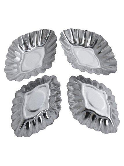 Форма для випічки кексів (85 мм), (4 шт.) Trendy 3823026