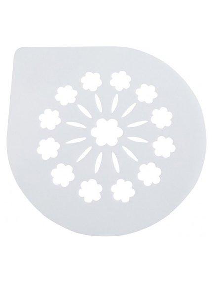 Трафарет для торта «Квіти» (250 мм) Trendy 3823117